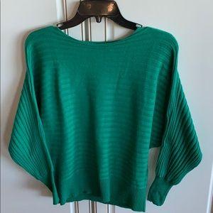 Alfani Petite green sweater